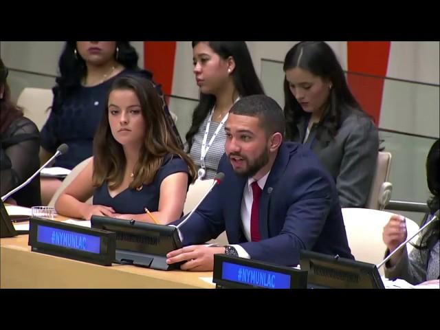 Comisión de Población y Desarrollo del ECOSOC (CPD-ECOSOC) en la Reunión Plenaria de NYMUNLAC 2019.