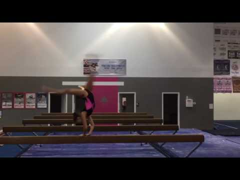 Aubri Schwartze, Triad Gymnastics level 10, 2020 recruit, flick-layout