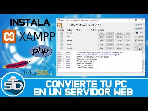 Como Descargar E Instalar Xampp Para Windows - Apache, MySql, Toncat, Etc | Paso A Paso