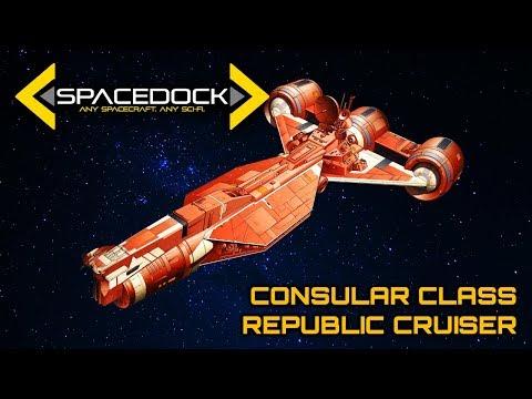 Star Wars: Consular Class Cruiser - Spacedock