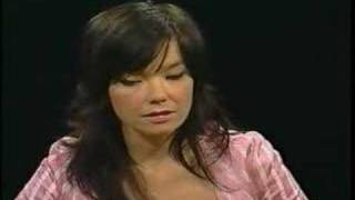 Bjork - Charlie Rose Interview