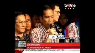 konferensi pers Jokowi  menyikapi hasil quick count pilkada DKI.Jakarta (FINAL)