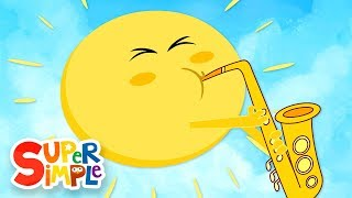 Herr Sun, Sun, Herr Golden Sun | Kinder Lieder | Super Simple Songs