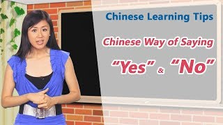 The Chinese way of saying
