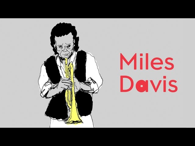 MILES DAVIS on Dizzy & Drawing