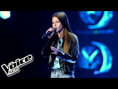 """Roksana Węgiel – """"Halo"""" – Przesłuchania w ciemno – The Voice Kids Poland"""
