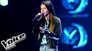 "Roksana Węgiel - ""Halo"" - Blind Audition - The Voice Kids Poland"