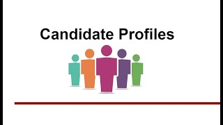 Creating an internal candidate profile in the talent management system (tms)