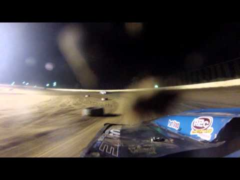 Aj cline clay county speedway feature 8/3/2013