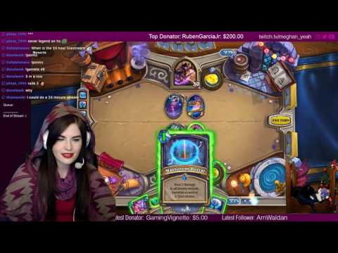 ? Hearthstone School of Witchcraft and Wizardry ? Come watch, chill, queue up with me and play!