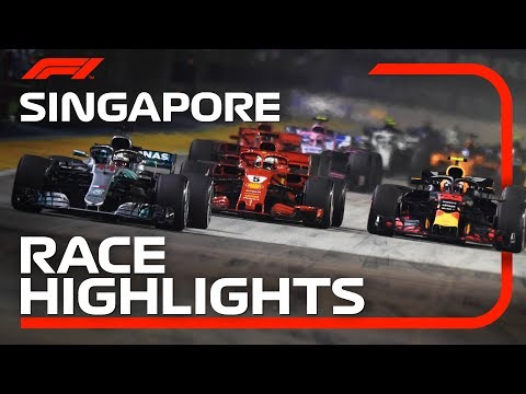 2018 Singapore Grand Prix: Race Highlights