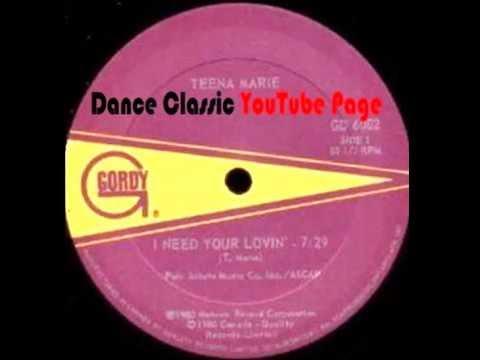 Teena Marie - I Need Your Lovin (Extended)