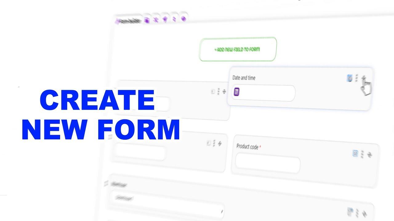 QuintaDB Form Builder