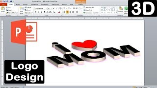 How to make a logo design in microsoft powerpoint