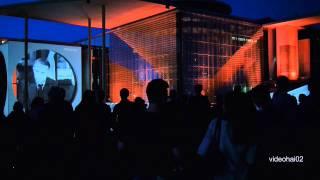 Multimedia-Show am Reichstag in Berlin