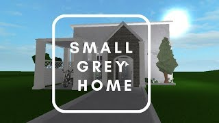 Roblox | Welcome to Bloxburg | Small Grey Home | 21k