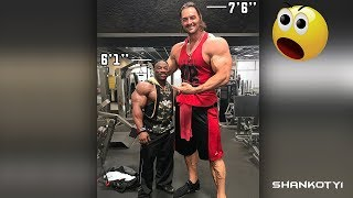 Tallest Bodybuilder In The World - Aaron Reed 7