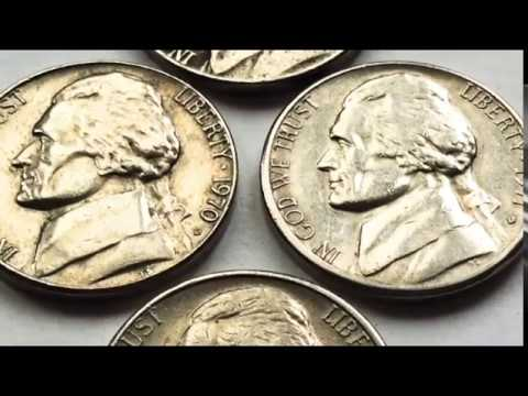 RARE JEFFERSON NICKELS WORTH MONEY 1970.1971.1972 D FIVE CENTS US COIN COLLECTION