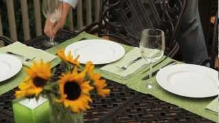 Summer With Sears:  Outdoor Seating & Dining Styles
