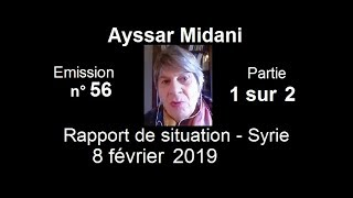 Download Video Ayssar Midani SitRep Syrie n°56 ~ 8 février 2019 partie 1 sur 2 MP3 3GP MP4