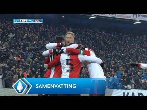 Samenvatting TOTO KNVB Beker: Feyenoord - Willem II (28/2/2018)