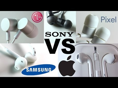 Earphone Battle - Apple vs Pixel vs Sony vs Samsung vs LG - Which is the best?