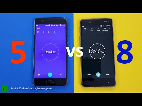 Nokia 8 (4GB) vs OnePlus 5 (8GB) Speed Test, Real Life Performance & Benchmark Comparison