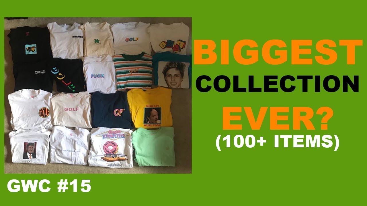 0f30075da7c4 BIGGEST GOLF WANG COLLECTION EVER !🤯 (135 ITEMS!!!) GWC  15🏌 ♂ 🔥