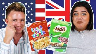 Australia Vs. USA Breakfast Cereal Swap