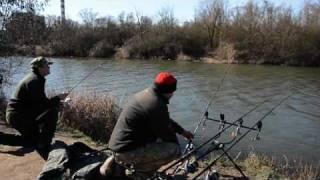 Ловля карпа и карася зимой(Совместная рыбалка в марте. NIKO-FISHING.com., 2011-03-17T17:07:54.000Z)