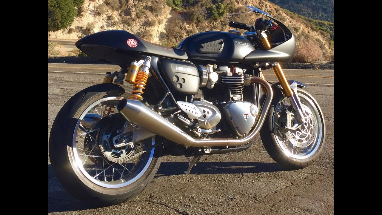 custom triumph thruxton r 1200 youtube. Black Bedroom Furniture Sets. Home Design Ideas