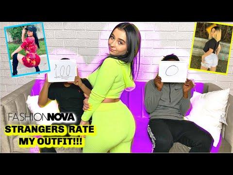 Random Teenage Boys Rate My Fashion Nova Outfits *bf caught me*