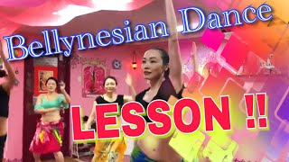 Bellynesian Dance Lesson -Emily Diamond Japan-
