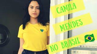 Camila Mendes no Brasil