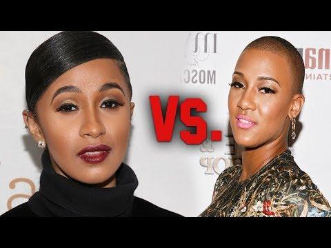 Cardi B Pops Off on Nya Lee from Love n Hip Hop DMs