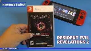 Nintendo Switch Resident Evil: Revelations 2 Gameplay