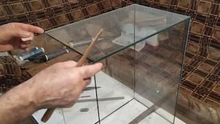 Как склеить аквариум в домашних условиях? Заключительная часть.