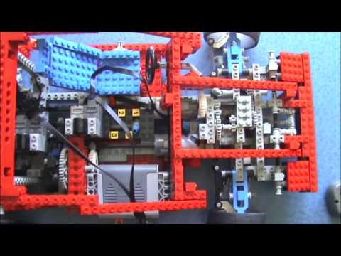 lego technic remote controlled 8865 3 motors youtube. Black Bedroom Furniture Sets. Home Design Ideas
