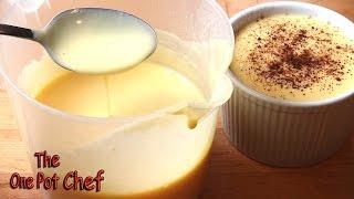 Classic Vanilla Custard - Recipe