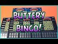 BUTTERY BINGO!! (2) $5 Loteria Grande + (5) $2 Loteria - Florida Lottery Scratchers