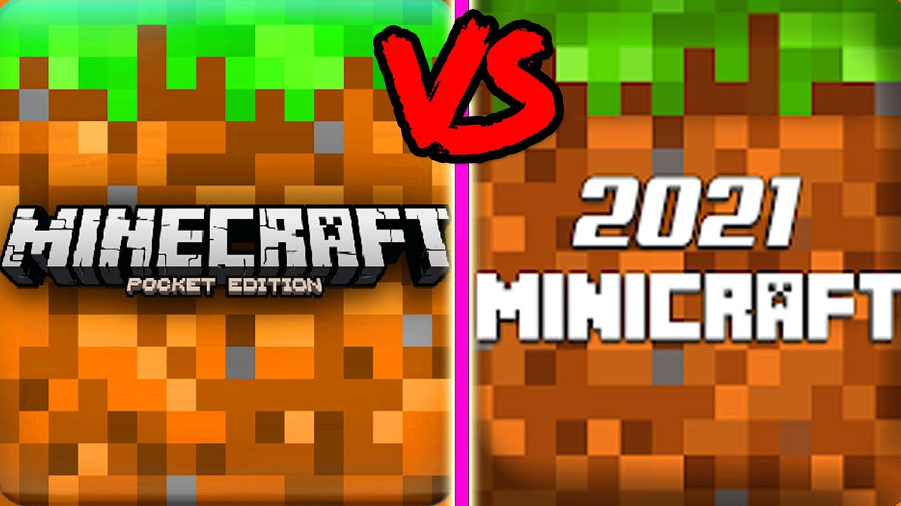 Minecraft PE VS Mini Craft 2021