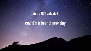 Alexander Joseph - Not Defeated [Lyric Video]