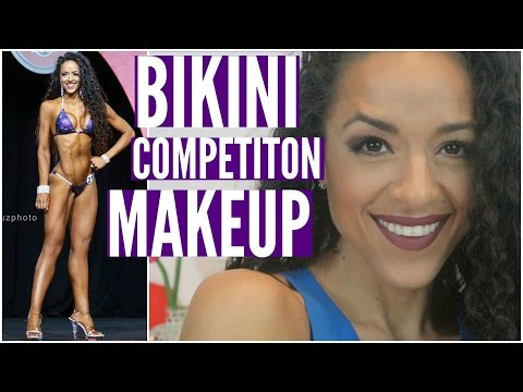 HOW TO: BIKINI COMPETITON MAKEUP TUTORIAL || Contouring, Baking & All Day Wear! from YouTube · Duration:  27 minutes 47 seconds