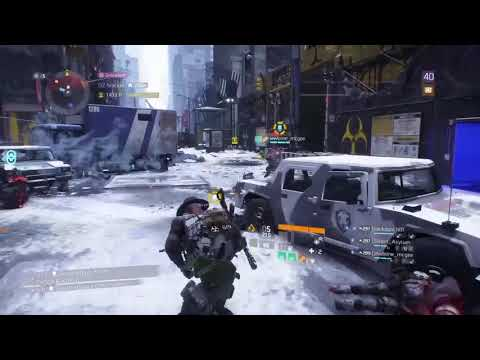 Solo Manhunt and BeamTeam link up #ARStriker ll The Division