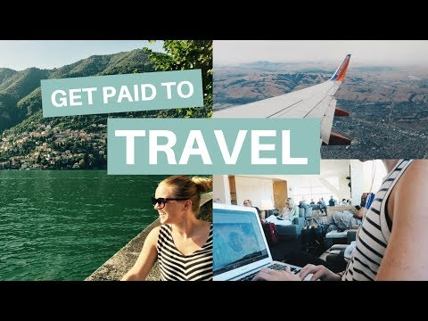 GET PAID TO TRAVEL | 12 Ways To Make Money While Traveling