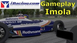 Greatest iRacing Gameplay. With Side Monitors. Full Race at Imola