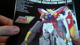 Unboxing: 1/144 HGAC Wing Gundam Zero