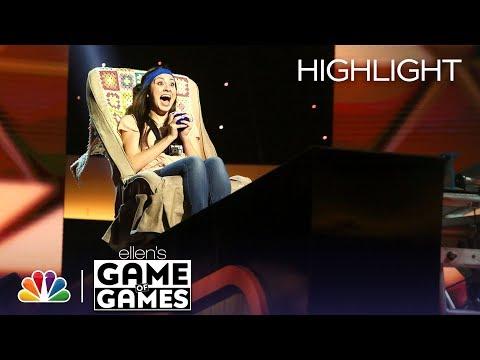 Ellen's Game of Games - In Your Face, Honey (Episode Highlight)