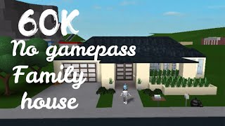 60K No-Gamepass Aesthetic Family Home (Roblox Bloxburg) | Its SugarCoffee