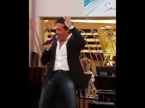 IL DIVO Carlos MARIN Karaoke on board! 30-11-2017
